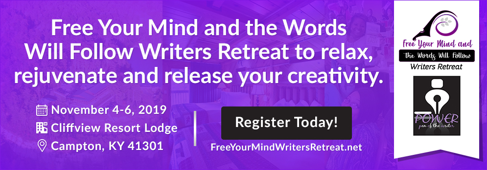 Free Your Mind Writers Retreat Banner