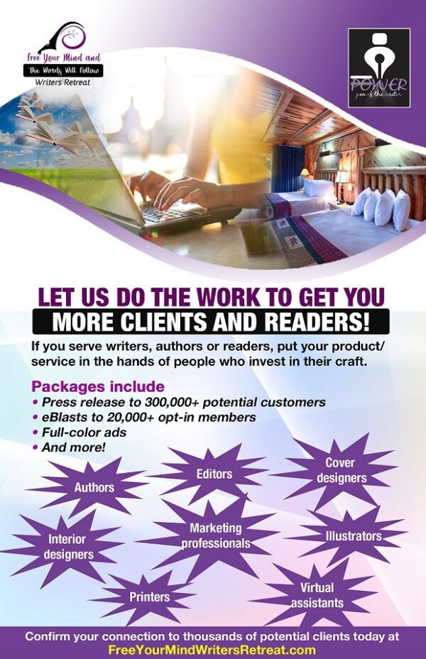 Free Your Mind Writers Retreat Advertise with Us