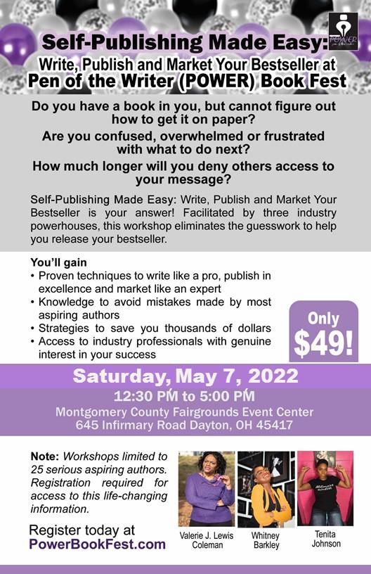 PBF 2022 Workshop Flyer