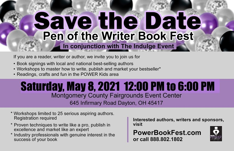 Power Book Fest 2021 Save the Date