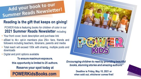 POWER Kids Summer Reads Newsletter flyer